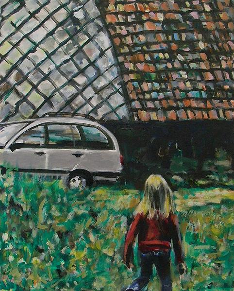 Schwarzwald I, Öl auf Leinwand, 2007, 50 x 40 cm