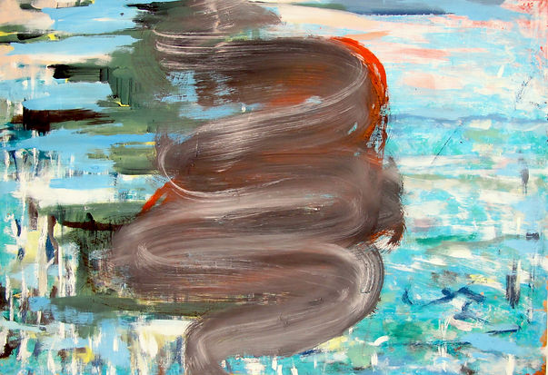 Feinstaubalarm I, Öl auf Leinwand, 2017, 54 x 78 cm