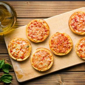 Mini Ham Pizzas