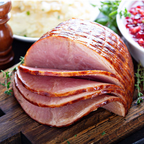 Orange Glazed Christmas Ham