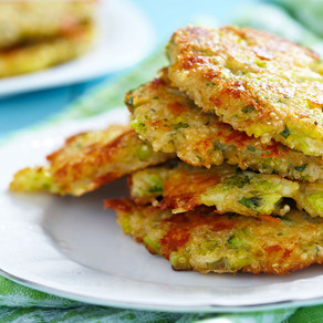 Baked Broccoli & Quinoa Fritters