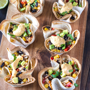 Tortilla Vegetable Bowls