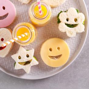 Smiley Sandwiches