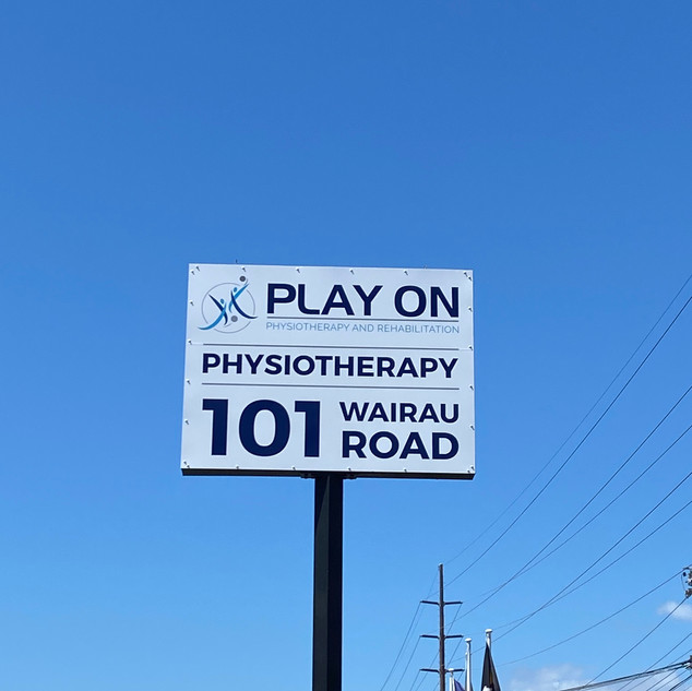 Find us at 101 Wairau Road! Signage out front, you can't miss us