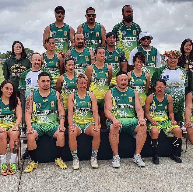 Oceania Tag Tournament - Cook Island Senior Mixed Team