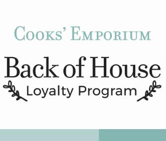 Back of House - Loyalty Program