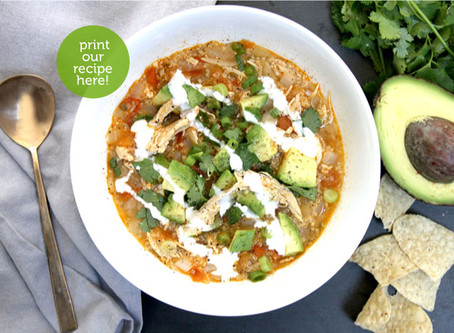 Chicken, Lime & Quinoa Soup