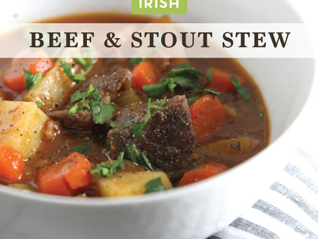 Irish Beef  & Stout Stew