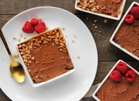 Spiced Dark Chocolate Mousse