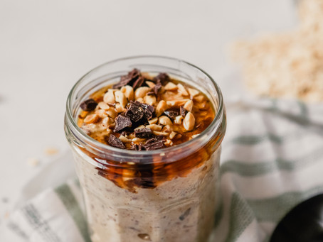 Monster Cookie Overnight Oatmeal