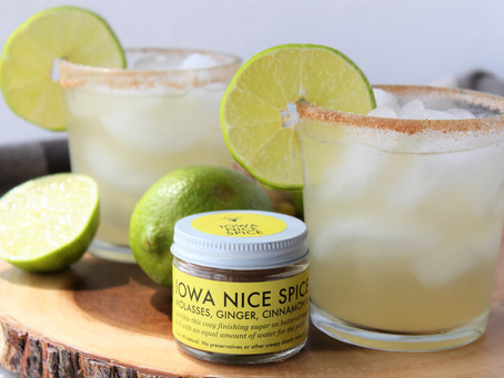 Iowa Nice Spice Ginger Lime Margaritas