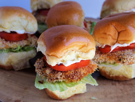 Baked Pork Chop Sliders