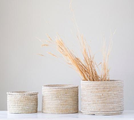 Set of 3 Nesting Baskets