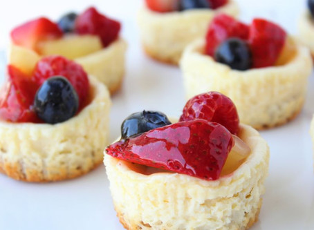 Mini Cheesecake Fruit Tarts