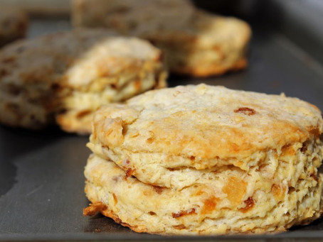 Caramelized Onion Buttermilk Biscuits