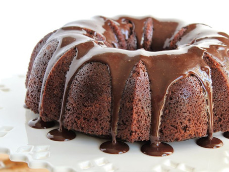 Mexican Chocolate Cake with Chocolate Ganache Icing