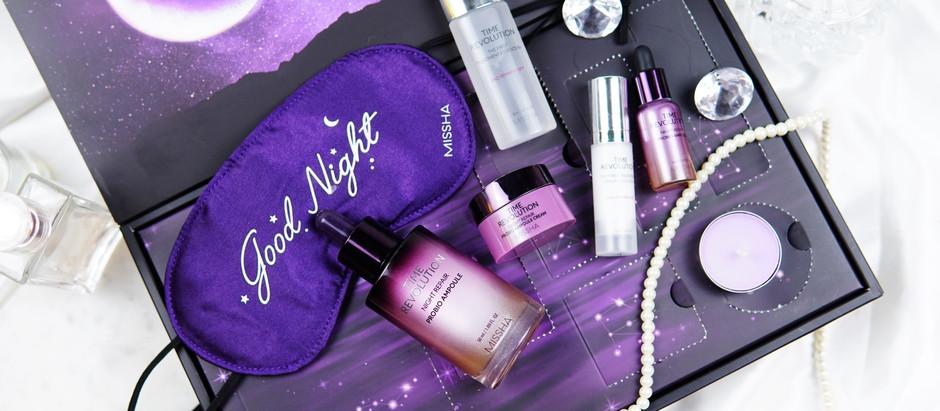 MINI REVIEW | บำรุงความสวยก่อนนอน MISSHA Time Revolution Night Repair Probio Ampoule