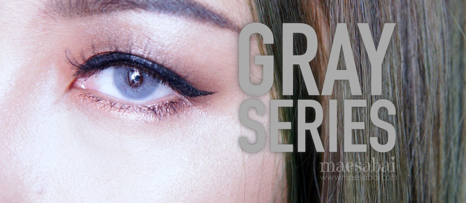 Gray Series | Sweety Plus+ คอนแทคเลนส์สีเทา สาย ฝ