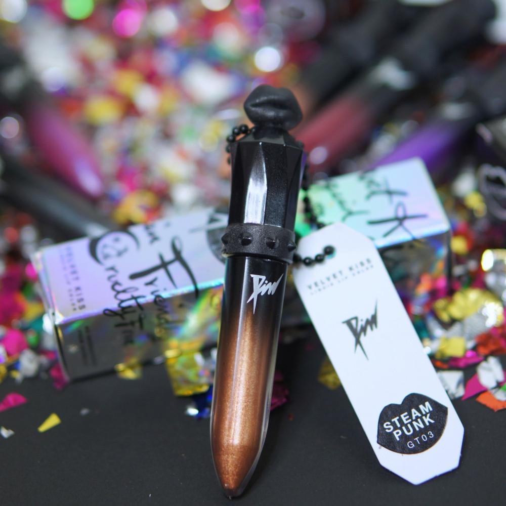 Pim Cosmetix Liquid Lipstick รีวิว Beauty Cosmetics