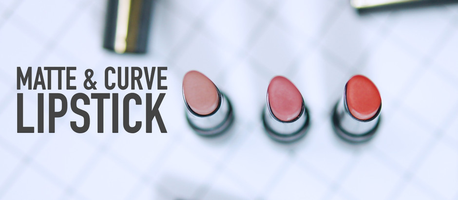 Matte & Curve Lipstick | ลิปสติก Cosluxe แมตต์ดี โค้งด้วย