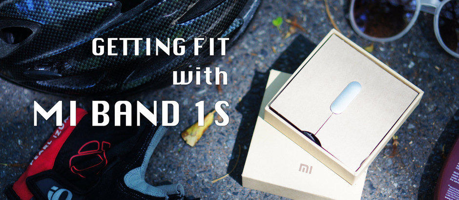 Getting Fit with MI BAND 1S