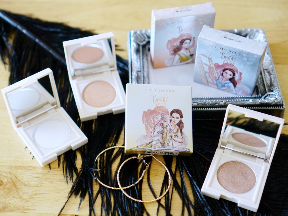 Cute Press Beauty and The Beast Disney Highlighter รีวิว