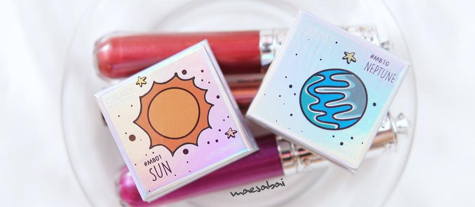 มินิ รีวิว บลัชออน Super Shades Galaxy Mini Blush | Maesabai