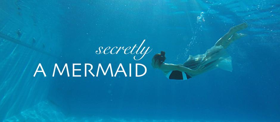 Secretly A Mermaid | แต่งหน้าไปว่ายน้ำ แต่งหน้ากันน้ำ