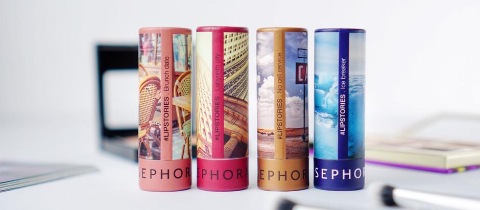 รีวิวและสวอทช์ #LIPSTORIES Sephora Collection