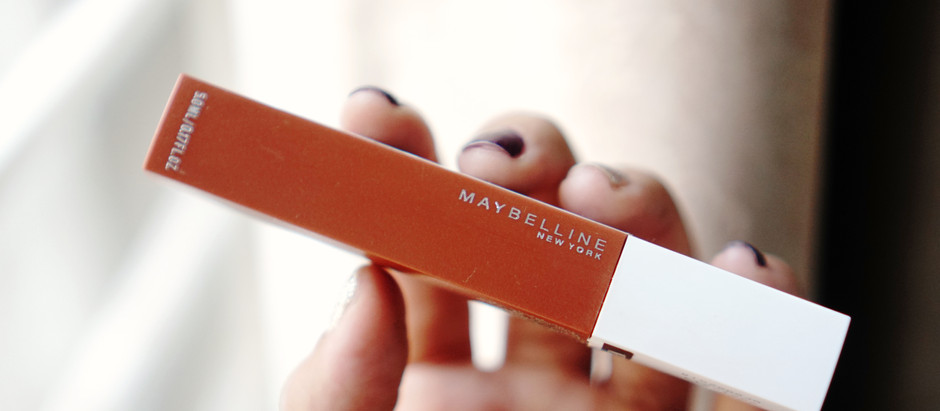รีวิว Maybelline Super Stay Matte Ink