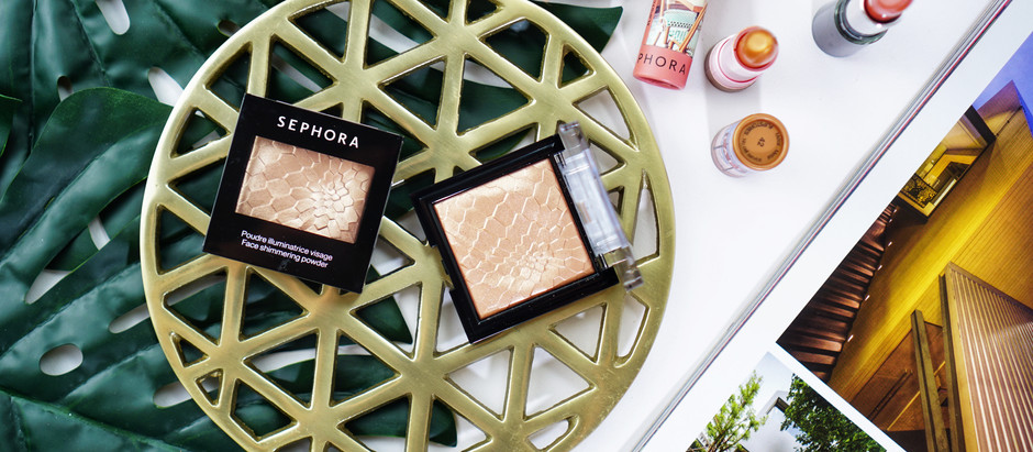 รีวิวไฮไลท์ Sephora Face Shimmering Powder โกลวสุดพลัง