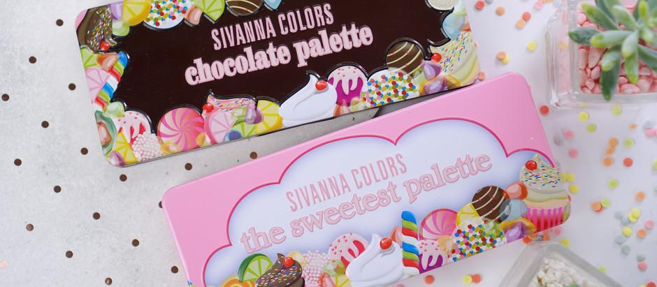 รีวิว พาเลตสุดคิ้วท์ Sivanna The Sweetest & Chocolate Palette