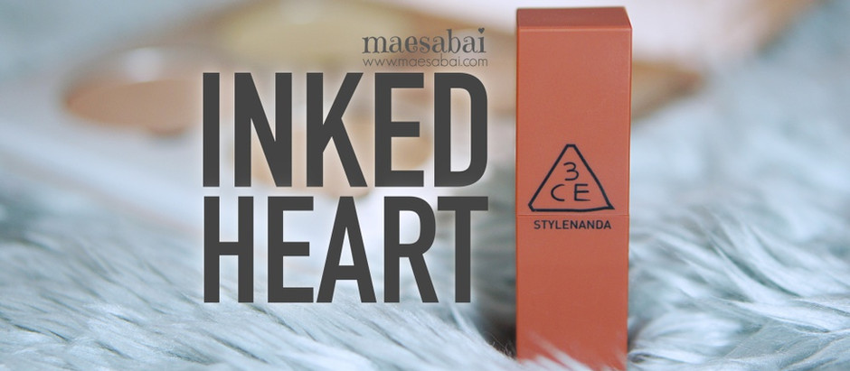 Inked Heart   รีวิวลิปสติกแมตต์ 3CE สีสุดฮิต