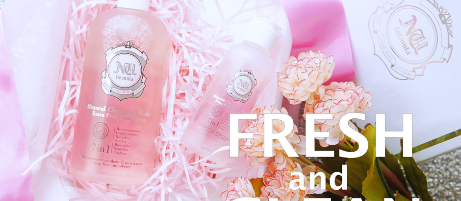 Fresh & Clean | Nu Formula Mineral Cleansing Water