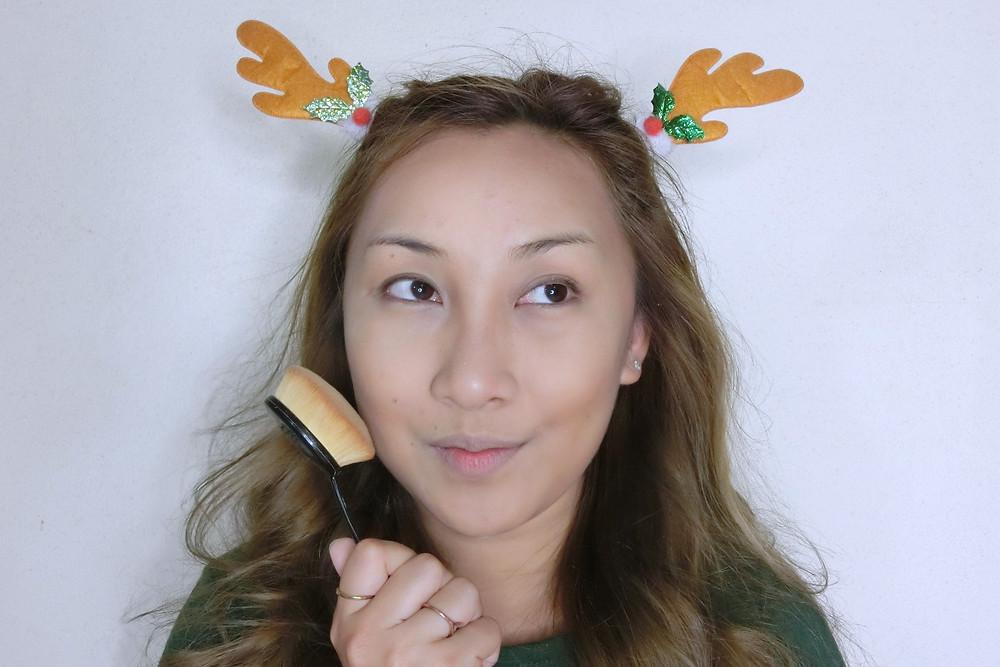 Christmas รีวิว ลิปสติก เครื่องสำอาง บิวตี้ บล็อกเกอร์ cosmetics แต่งหน้า Pumi Pure Supermom