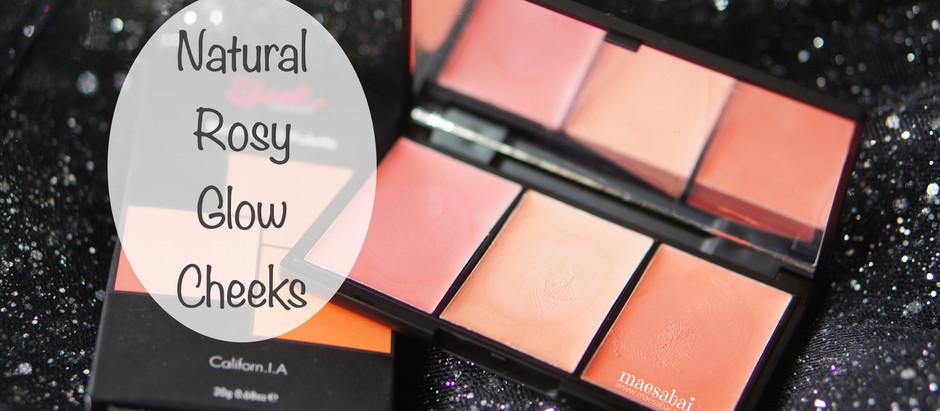 Natural Rosy Glow Cheeks | สวอทช์สี Sleek ครีมบลัช
