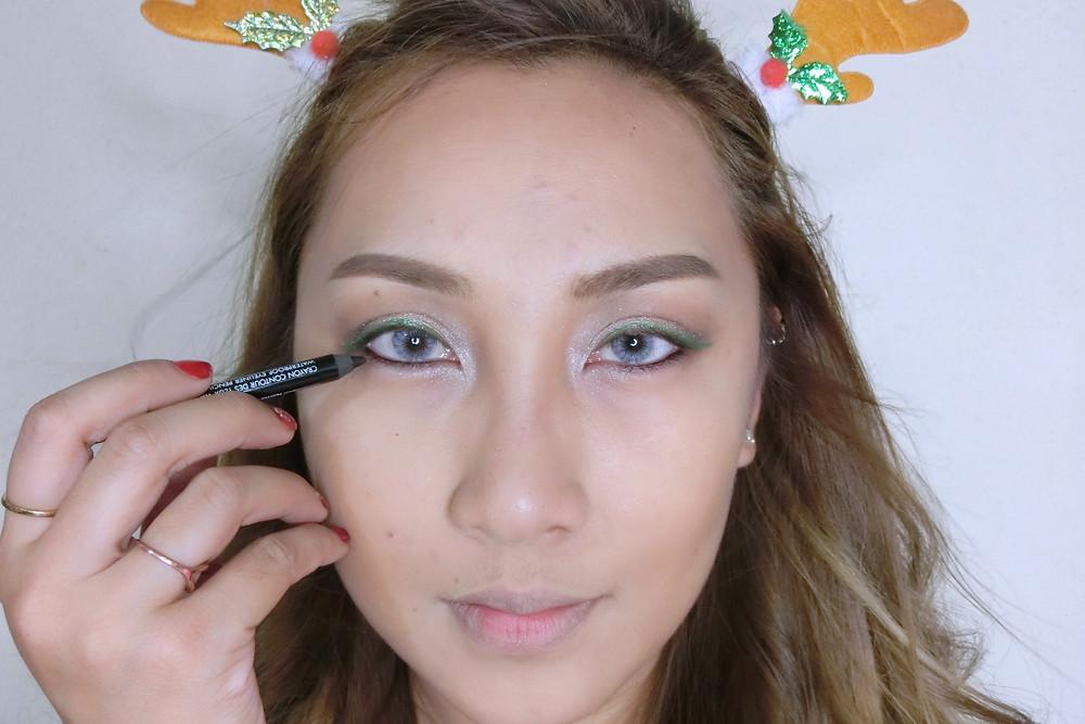 Christmas รีวิว ลิปสติก เครื่องสำอาง บิวตี้ บล็อกเกอร์ cosmetics แต่งหน้า Eyeliner