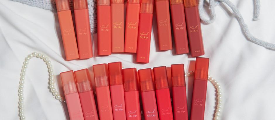 รีวิว 4U2 Touch My Lip สวอทช์ครบ 18 สี
