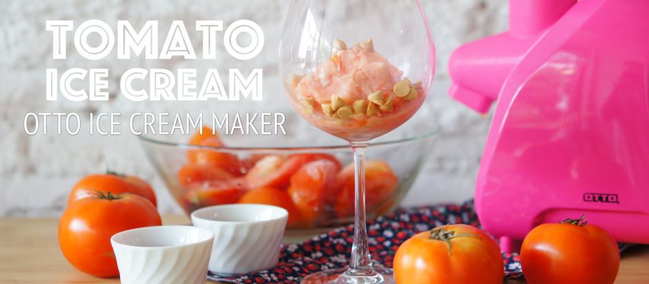 Tomato Ice Cream | OTTO Ice Cream Maker