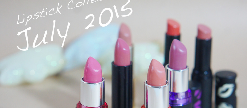 [Swatch] Lipstick Collection : July 2015 ราคาน่ารัก