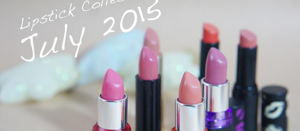 [Swatch] Lipstick Collection : July 2015 ราคาน่ารัก