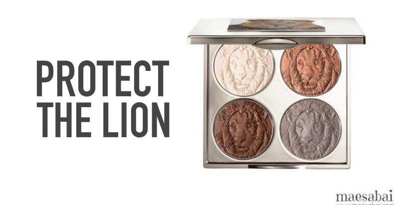 Protect the lion | แบรนด์ Chantecaille สวยช่วยโลก