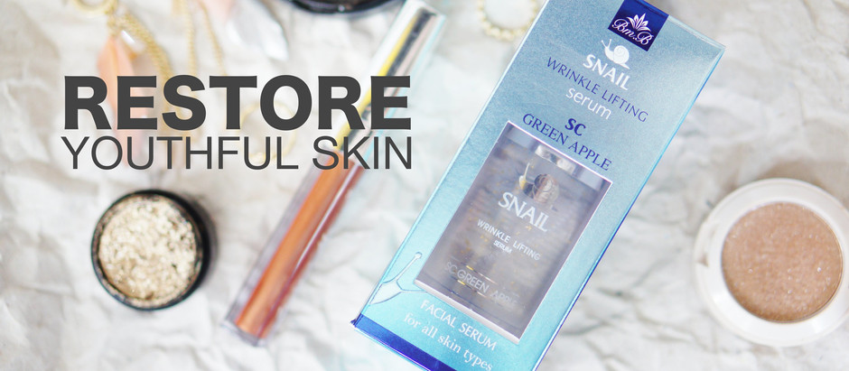 Restore Youthful Skin | ย้อนวัยผิวด้วย BM.B Snail Wrinkle Lifting Serum