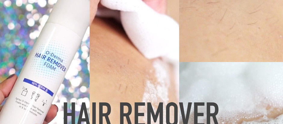 Hair Remover | O-derma กำจัดขนขายันขนน้องสาว