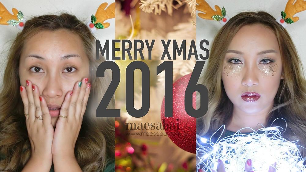Christmas รีวิว ลิปสติก เครื่องสำอาง บิวตี้ บล็อกเกอร์ cosmetics แต่งหน้า