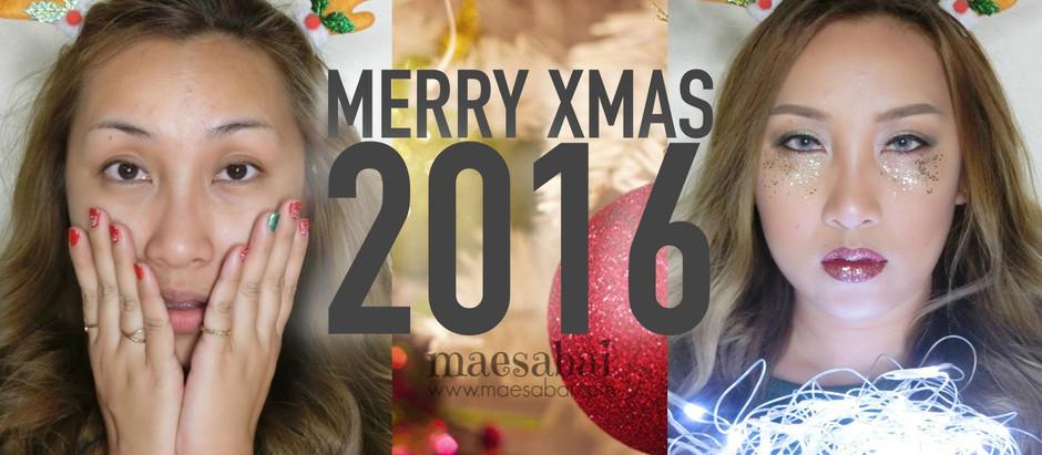 Merry Xmas 2016 | แต่งหน้ารอซานต้าคลอส
