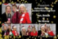 Christmas Black & Gold Theme Print