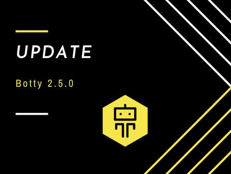 Update 2.5.0