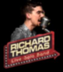 Richard Thomas Live Solo Band Final Logo