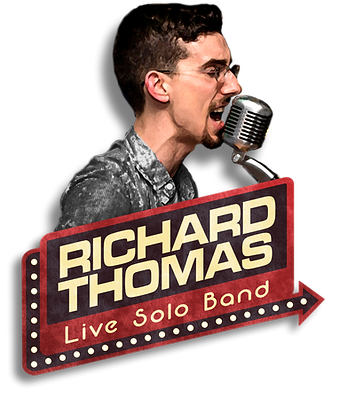 Richard Thomas Live Solo Band Final Logo